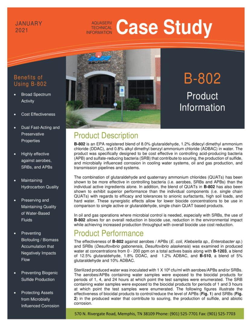 B-802 Case Study-1